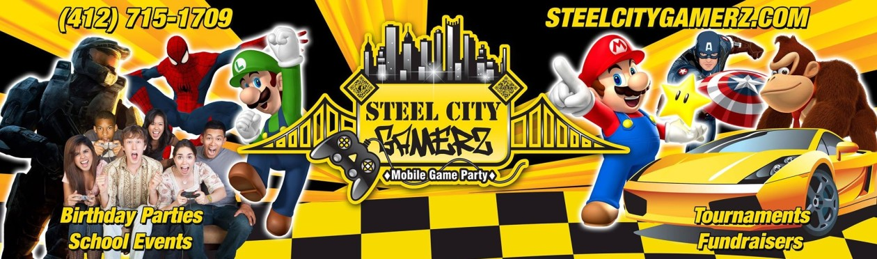 Pennsylvania's Best Mobile Video Game Truck Birthday Party–Pittsburgh–Allegheny County- Washington County and MORE!