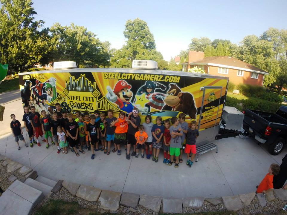 Pittsburghs Best Mobile Video Game Truck Laser Tag Birthday Party Place In Pennsylvania Allegheny County And MORE
