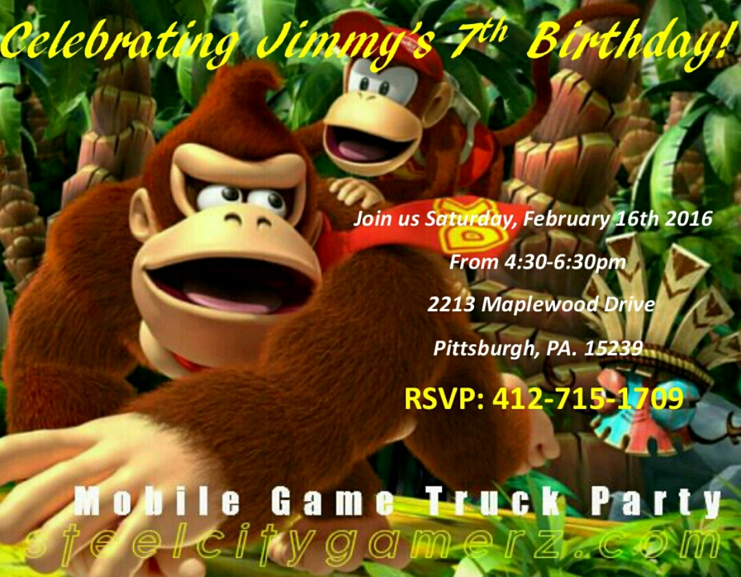 Free Birthday Party Invitations That Are Great For All Ages!