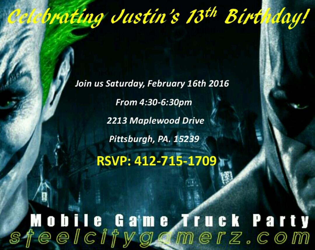 JOKER BATMAN INVITE DOWNLOAD