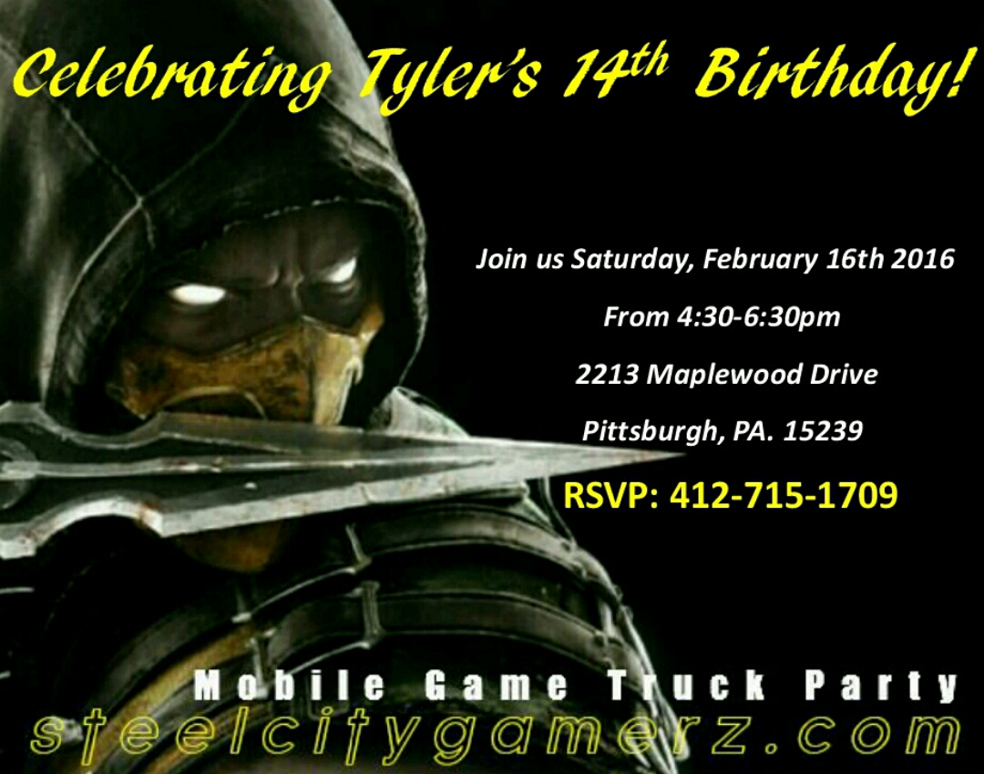 Free birthday party invitations that are great for all ages mortal kombat 2 filmwisefo
