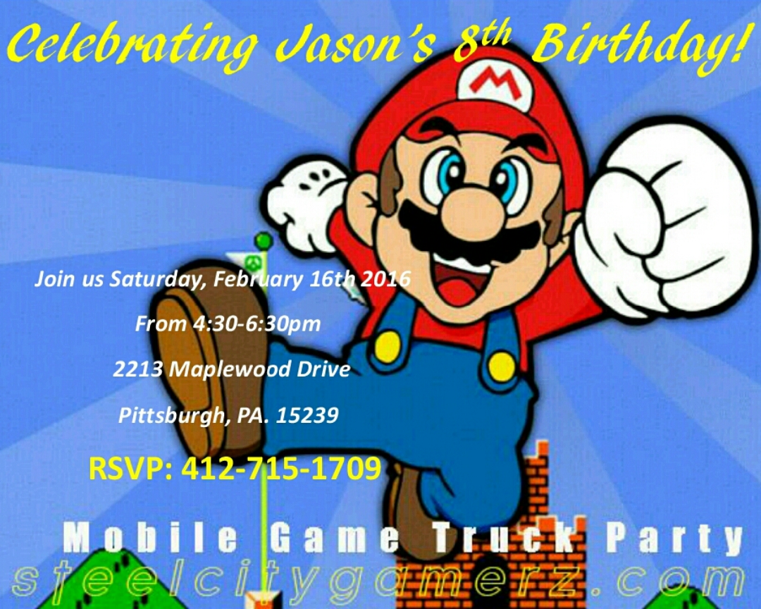 Free Birthday Party Invitations That Are Great For All Ages