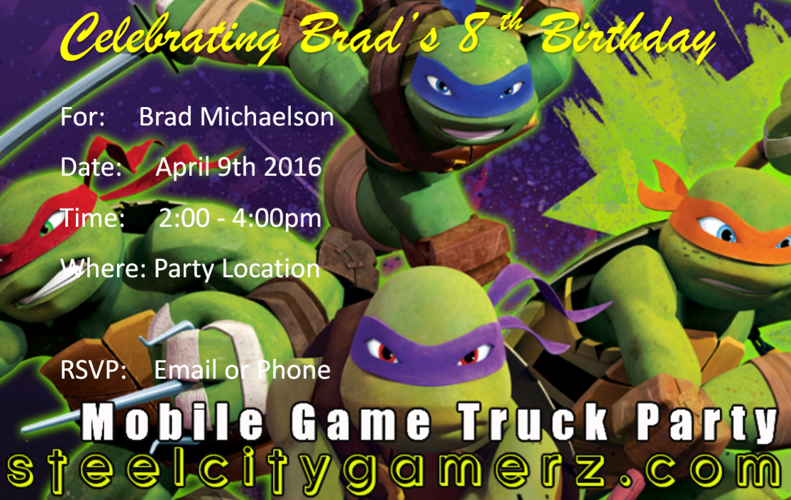 Tmnt Final Pittsburgh S Best Mobile Video Game Truck