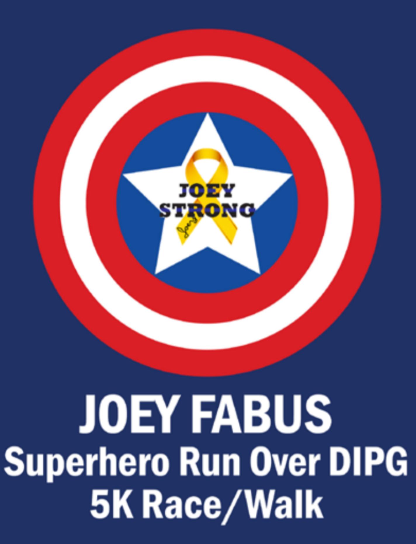 Joey Fabus Super Hero 5k Run Walk Over Dipg