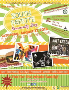 South Fayette Community Day